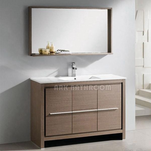 Modern Bathroom Vanities Sets MDF Bathroom Vanity Sink A5001