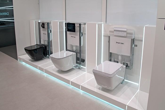 High Tech Toilets Premium Bathroom Cabinet Kitchen
