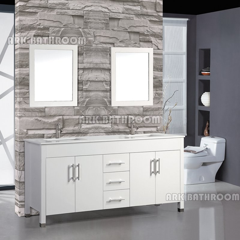 Canadian Kitchen Cabinet Manufacturers: 60'' 72'' White Canada Bathroom Vanities Cabinets